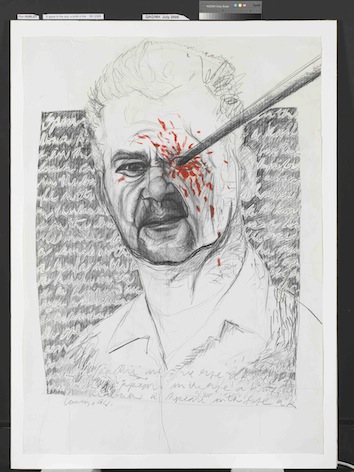 Spear in the Eye (Uncle Colin Johnson Portrait)